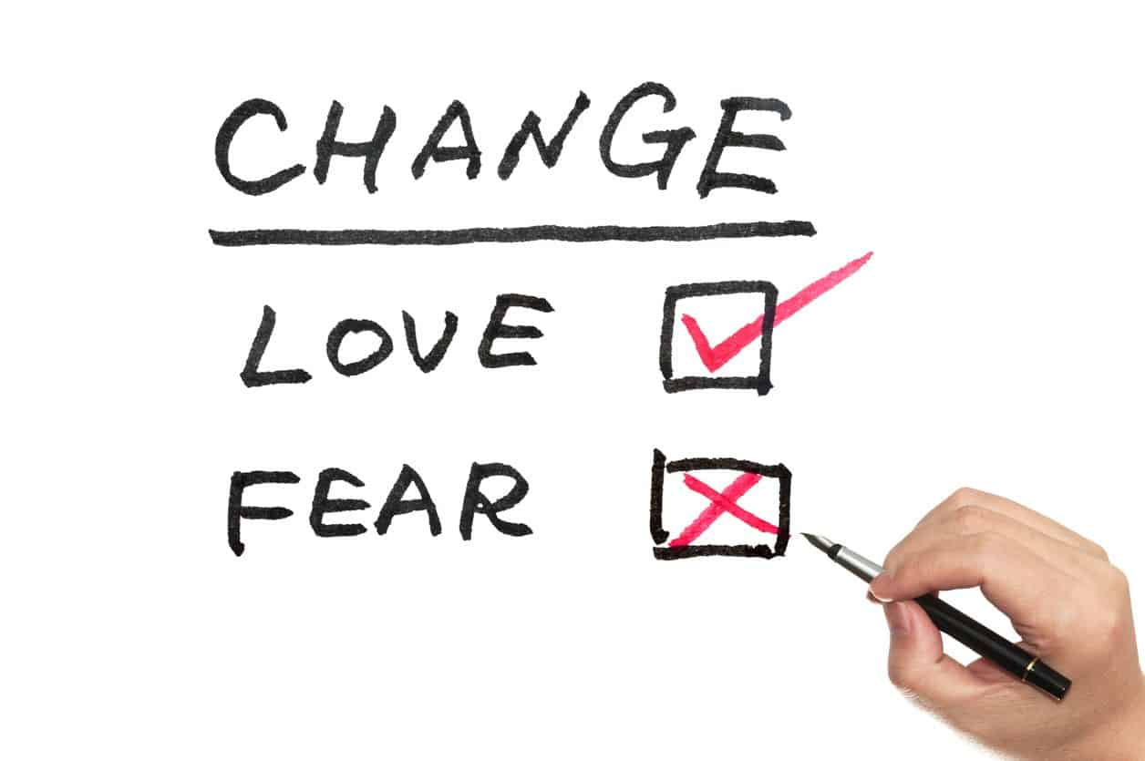 love vs fear at work